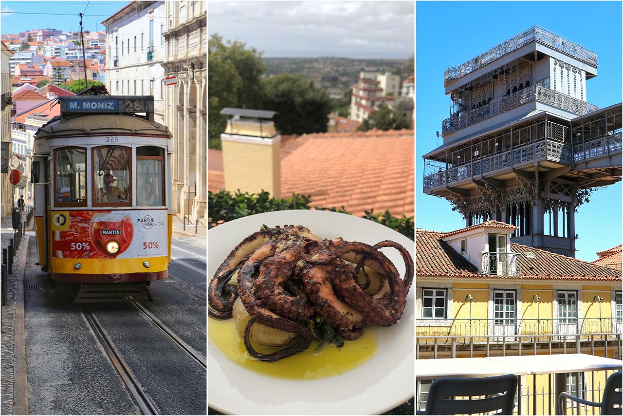 Лиссабонские трамваи и гастрономический рай