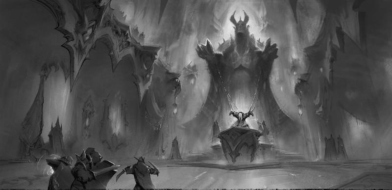Первое знакомство с вампирским раем World of Warcraft: Shadowlands action,adventures,arcade,fantasy,pc,ps,xbox,Аркады,Игры,Приключения,Фентези