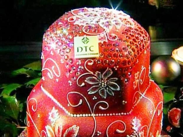 Бриллиантовый фруктовый торт