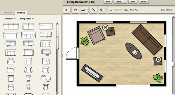 8 for Office furniture layout tool