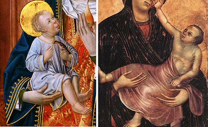 Уродливые дети Ренессанса: Почему на некоторых картинах дети выглядят безобразными старичками