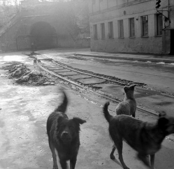 Московский виадук на Сыромятниках. Фото 1980-1987 года интересное, москва, старые фото, фото