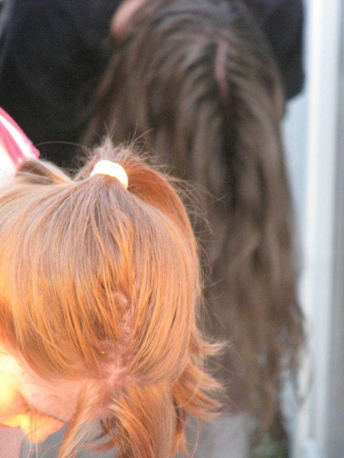 7. Для волос вода, макароны, советы