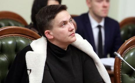 Савченко задержали в зале за…
