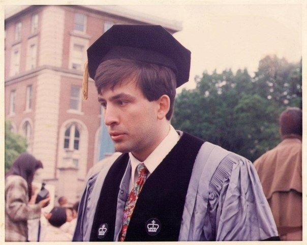 Михаил Саакашвили во время учебы в США, середина 90-х.