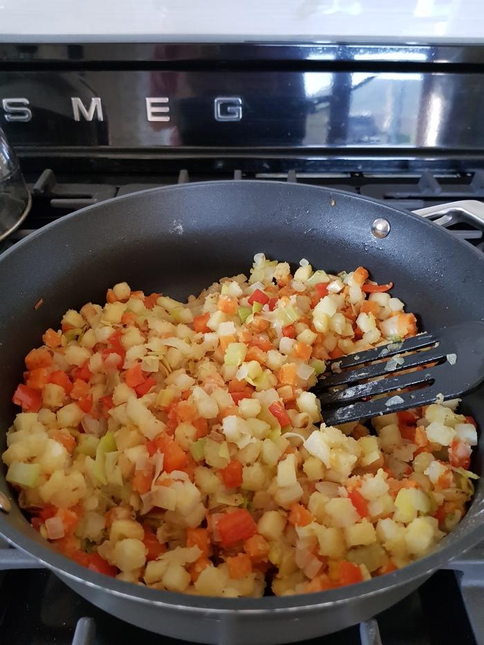Закрытый пирог с индейкой и овощами Рецепт, Длиннопост, Еда, Пирог