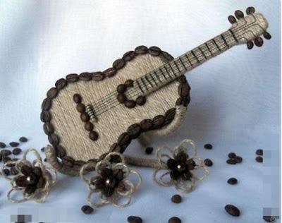 Кофейная гитара. Мастер-класс.
