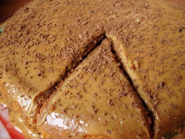 Кофейный пирог Из того, что …