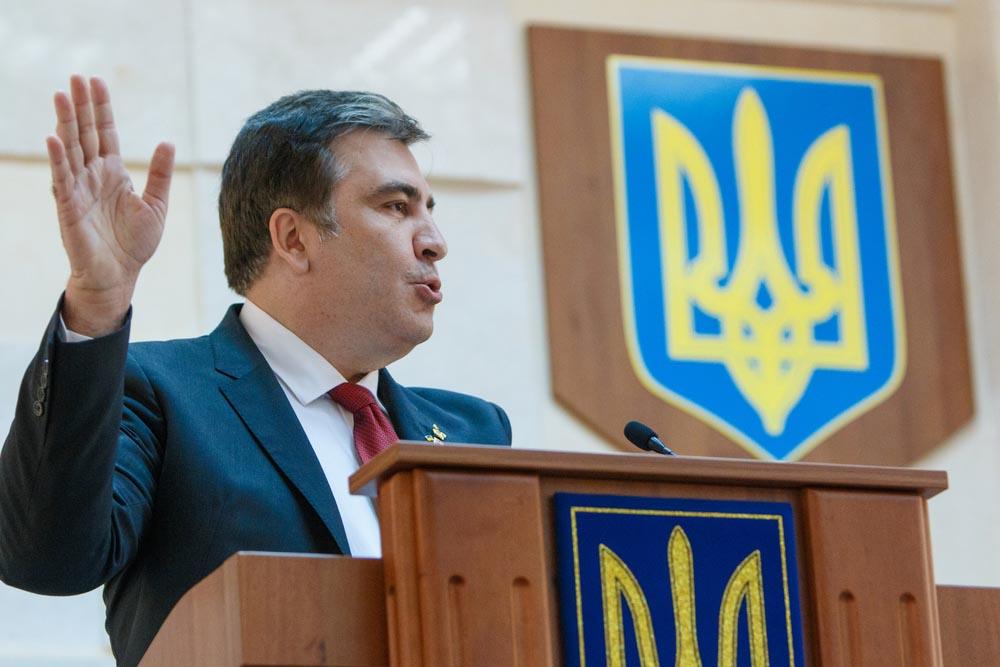 Первая крупная победа Саакашвили