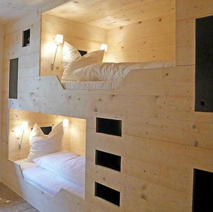 Топ 19 спален для экономящих пространств14