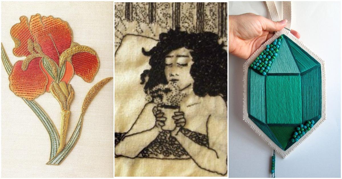 Когда игла становится волшебной: необычная вышивка искусных мастериц