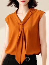 Идеи оригинального оформления верха блузок и платьев 3