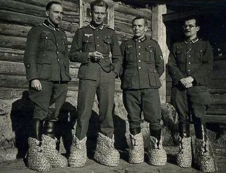 Почему немцы на Восточном фронте ходили в «носках» из соломы