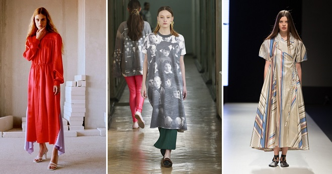 f1b68b7fe9b Платье балахон – модный фасон для любительниц комфортной одежды