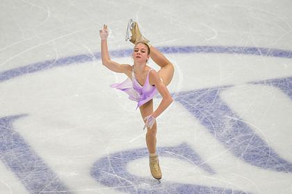 Трусова прокомментировала провал в короткой программе на чемпионате мира Спорт