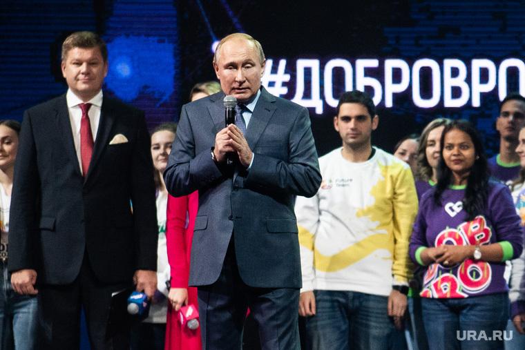 Путин впервые за год вышел к россиянам