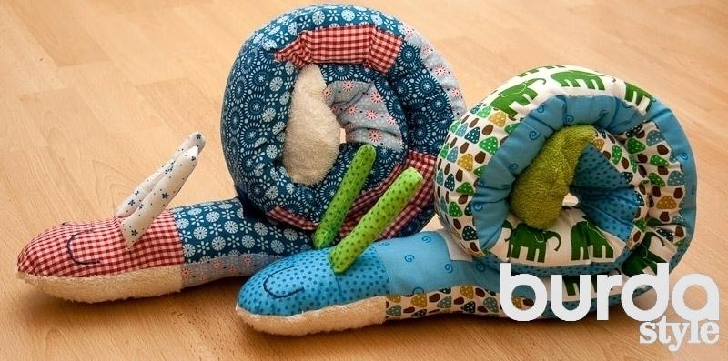 Чудесная подушка-игрушка для малыша. МК