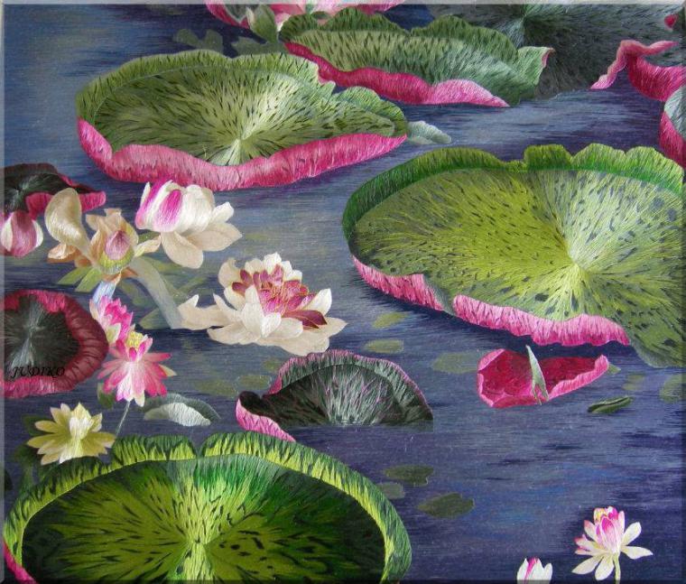 Китайская вышивка Су: потрясающие произведения искусства работы с шелком