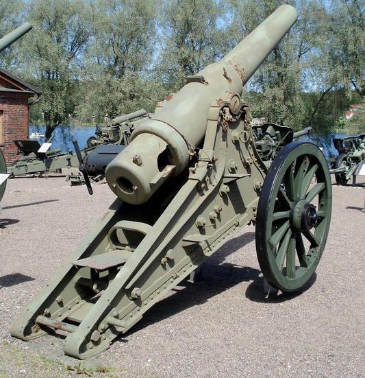 6-дюймовая пушка обр. 1877 г. в финском артиллерийском музее в Хямеэнлинна артиллеристы, вов, война, история, подвиг, ссср