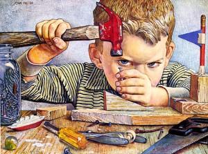 Мальчик на кухне - сбой в си…
