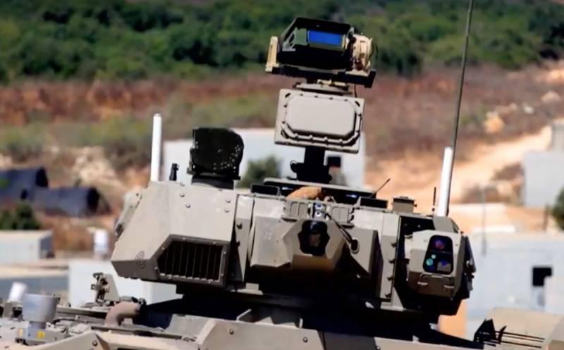 """Израиль представил три демонстратора технологий «умной» бронетехники"""""""