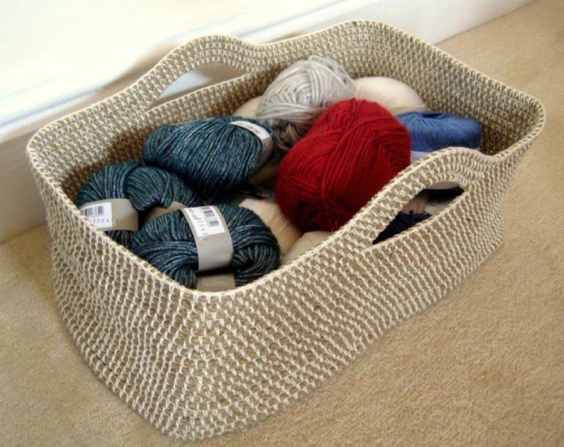 23 прелестные корзинки, вязанные крючком, для уютного дома вязание,для дома и дачи