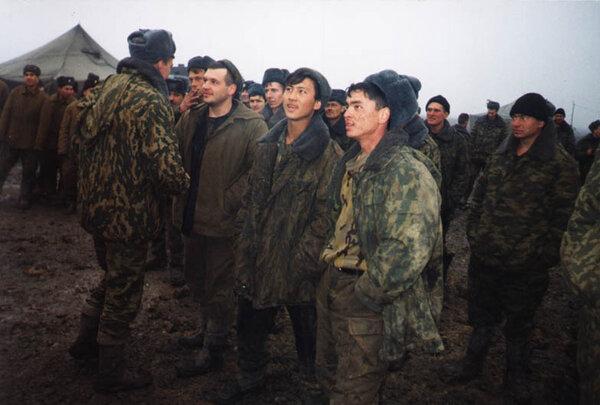 Контрактники в Чечне