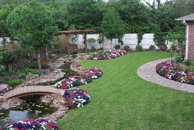 Сад, цветник и огород.  Стили ландшафтного дизайна