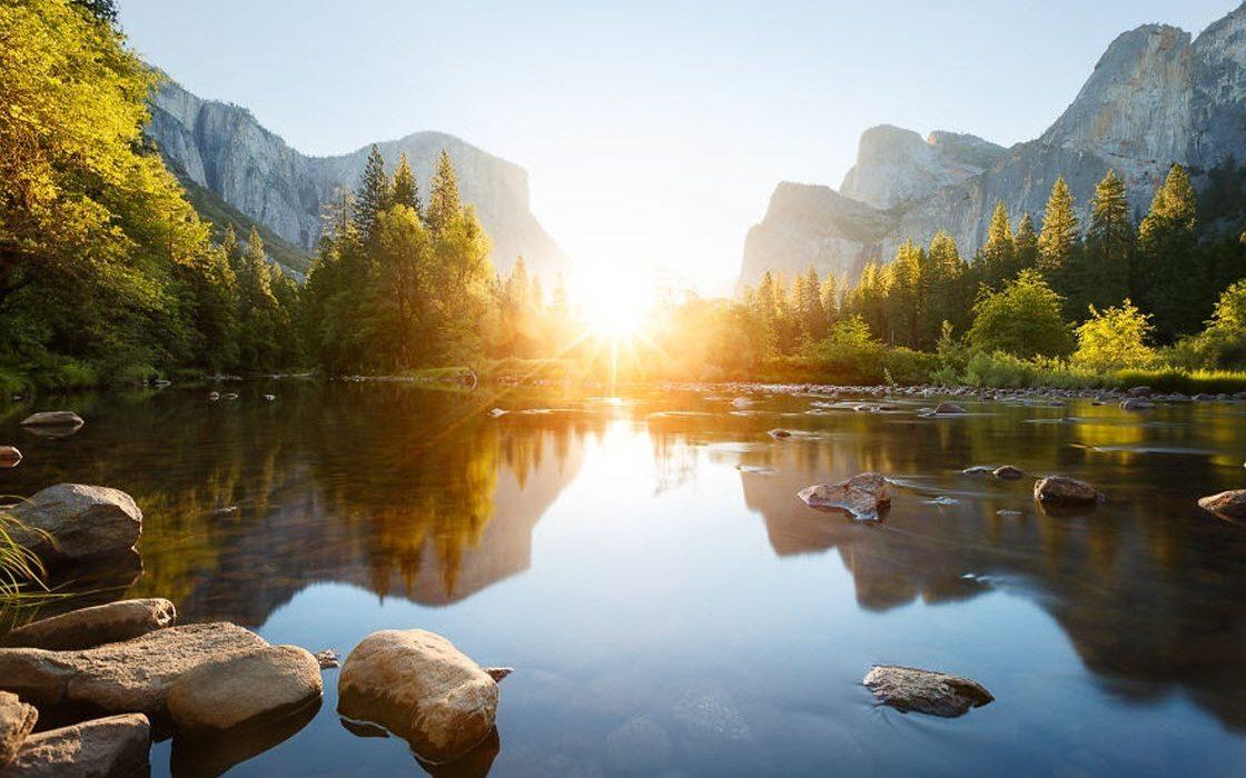 Чудесные фотографии восходящего солнца