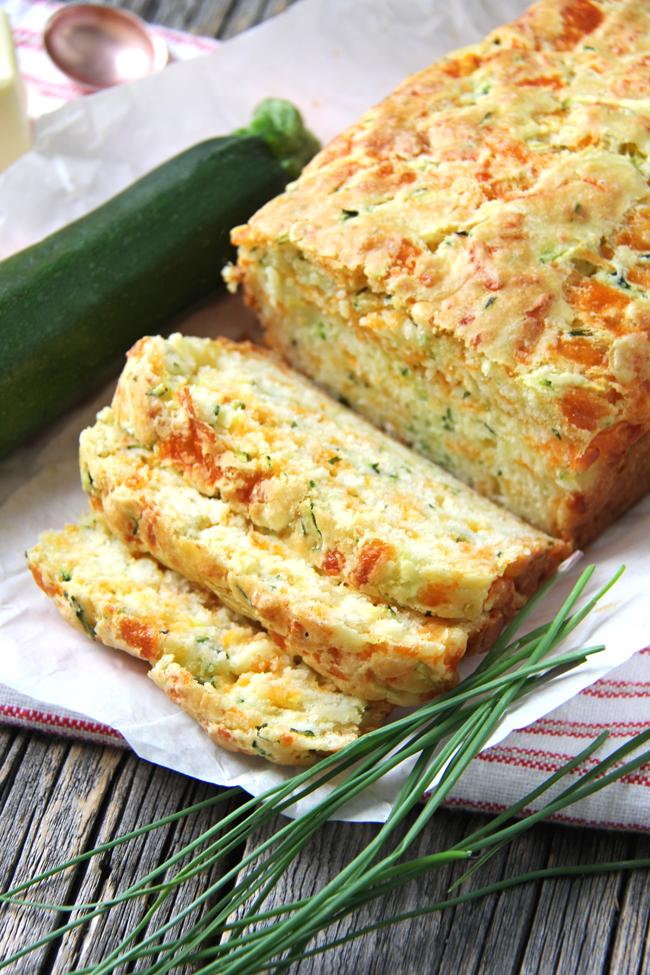 Сырный хлеб с кабачком — апп…
