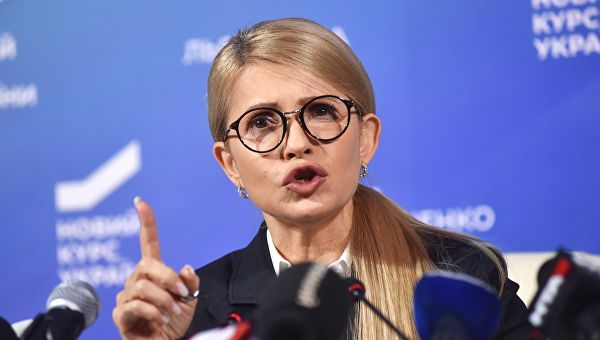 Каким образом Тимошенко верн…