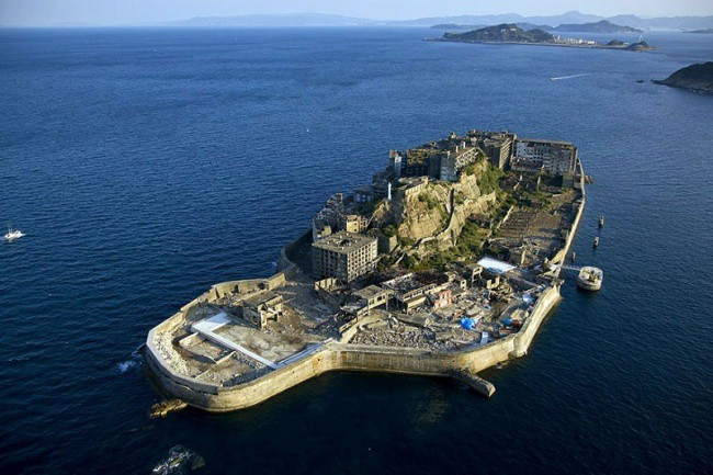 28. Остров Гункандзима, Япония интересное, история, поучительное, факты