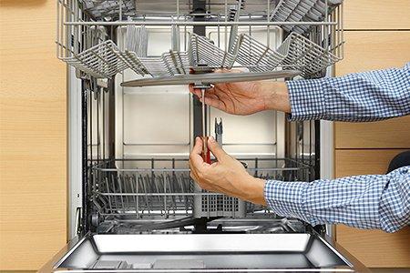 Проводим ремонт посудомоечной машины своими руками ошибки поломки  устранение