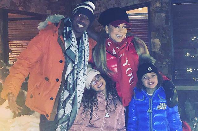 Мэрайя Кэри отметила Рождество с бывшим мужем и нынешним бойфрендом