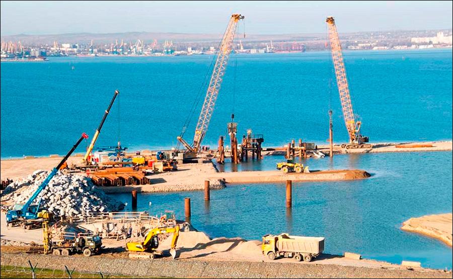 """""""Прекратите строить крымский мост, мы терпим убытки"""" ..."""