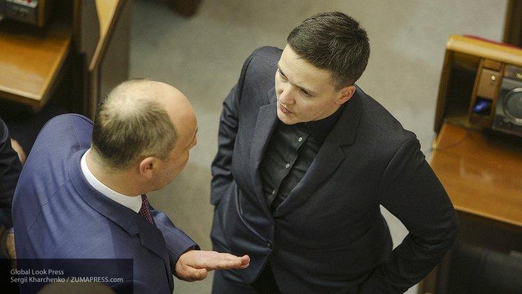 Надежду Савченко задержали в зале парламента Украины