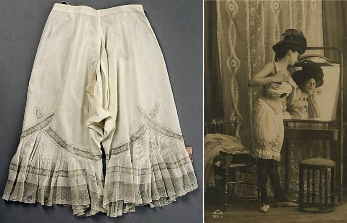 Тайны дамского нижнего белья XIX века