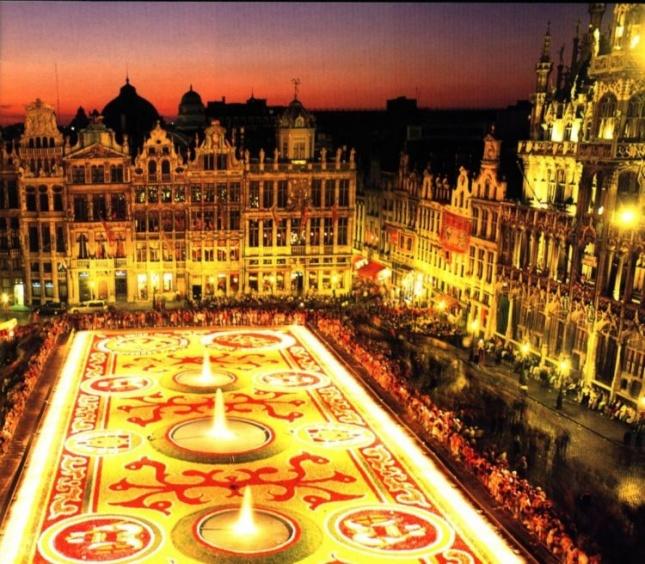 Гранд Палас – самая красивая площадь Бельгии