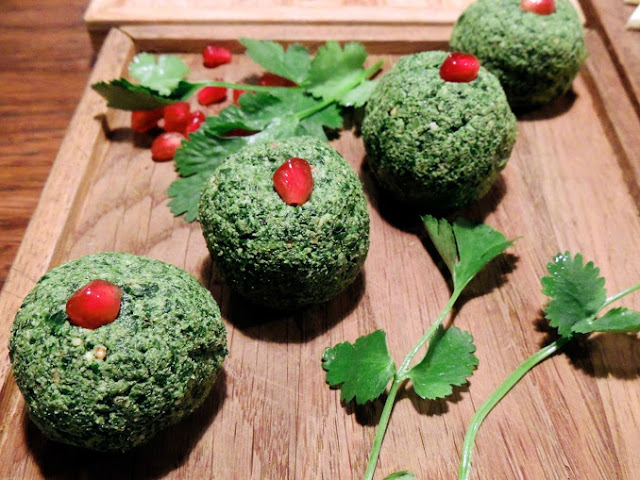 Пхали — традиционная грузинская холодная закуска из зелени и орехов
