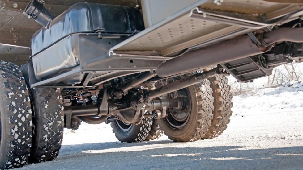 Studebaker US6 подвеска