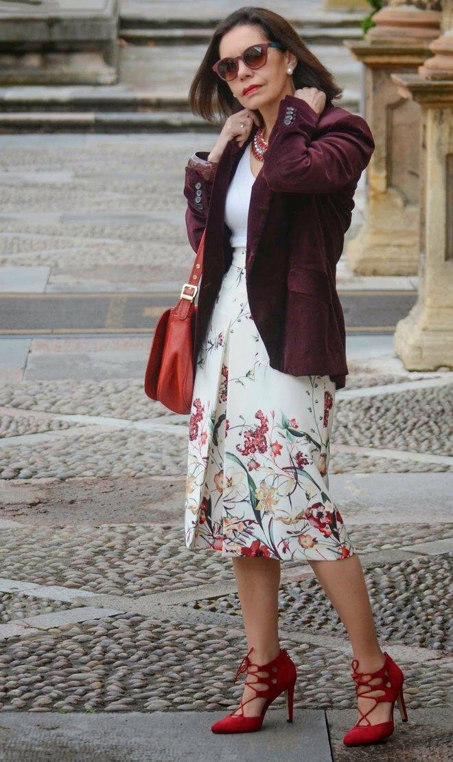 Европейская элегантность в каждом образе женщины 50+