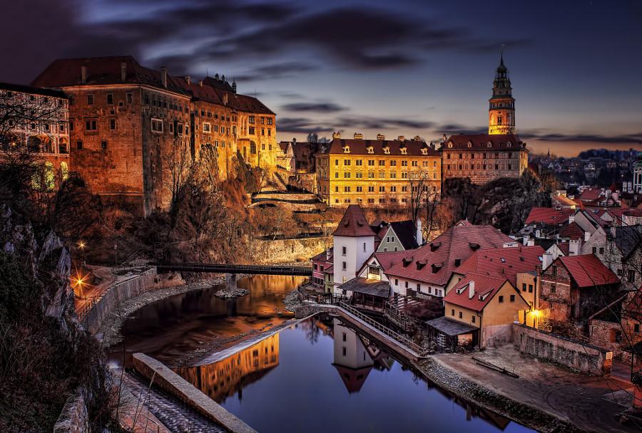 Чески-Крумлов: один из самых волшебных городов на Земле