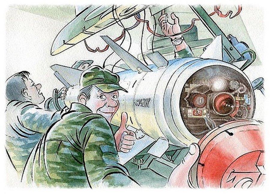 Красивая открытка, прикольные рисунки авиация
