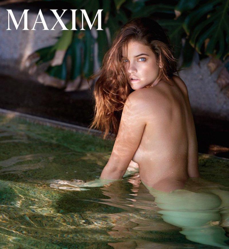 Барбара Палвин (Barbara Palvin) в фотосессии для журнала Maxim (Декабрь 2016 / Январь 2017)