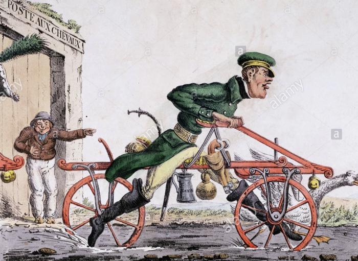 Машина для бега Карла Дрезе