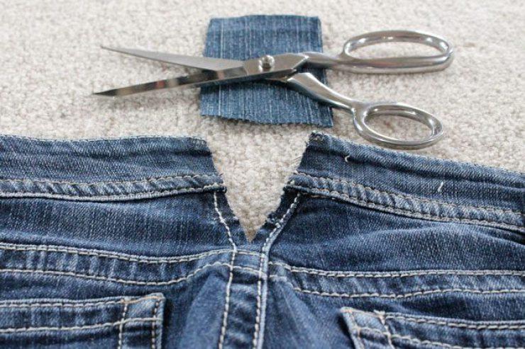 Поднять талию на джинсах своими руками