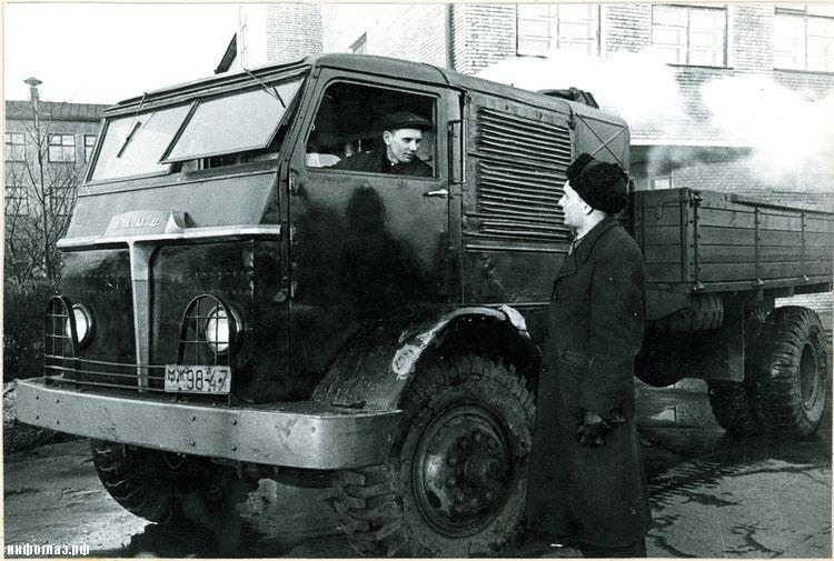 Советский паровой автомобиль