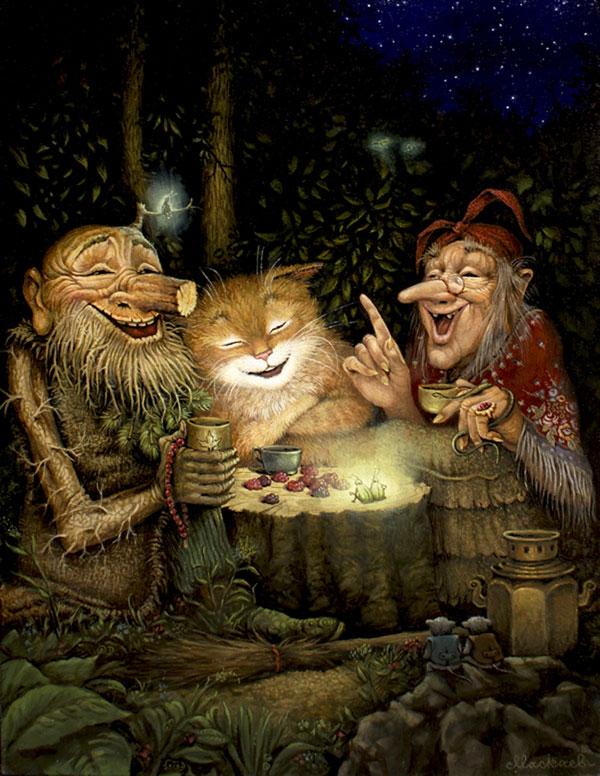 В мире сказки, художник Александр Маскаев