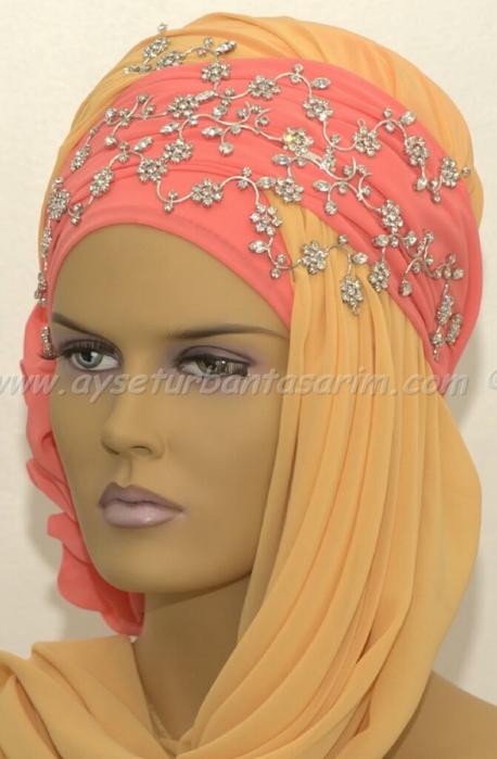 Очень красивые восточные головные уборы-тюрбаны