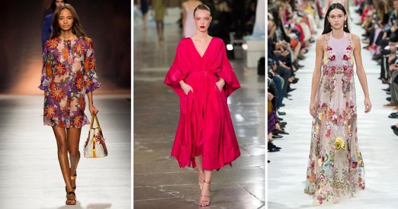Повседневные платья на лето 2018 – фасоны и модели для любого типа фигуры.